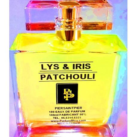 LYS & IRIS PATCHOULI - EAU DE PARFUM (Flacon Luxe 100ml / Sans Boite)