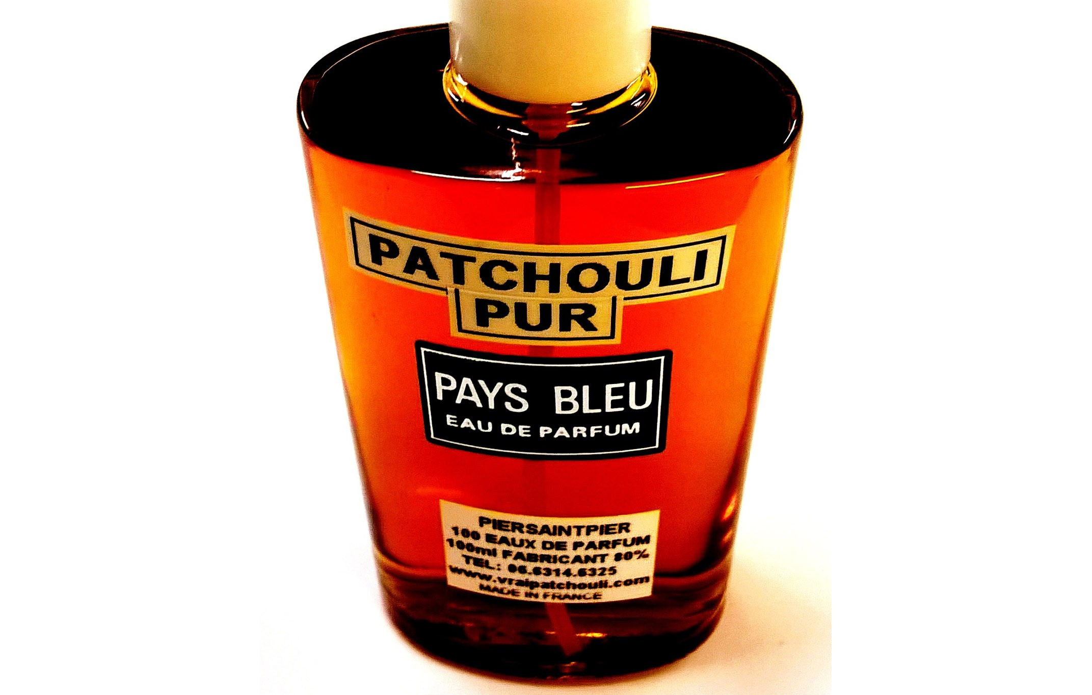 PATCHOULI PUR (Flacon Simple / Sans Boite)