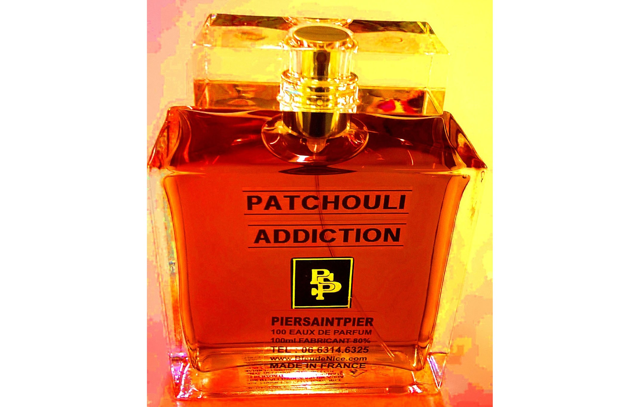 Patchouli Addiction - Flacon Luxe 100ml sans Boite