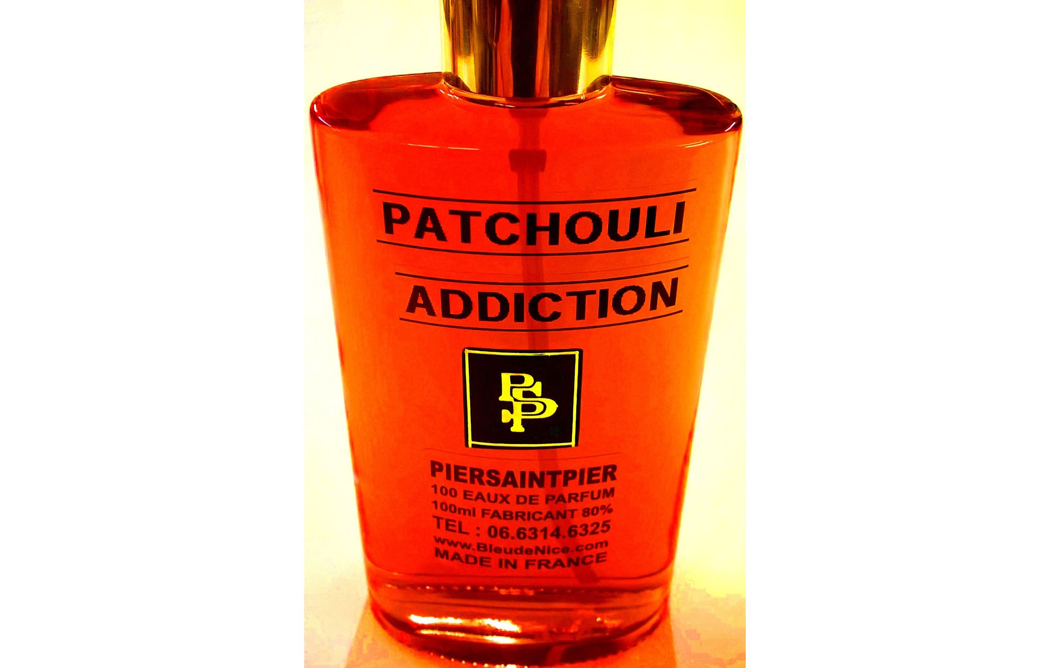 Patchouli Addiction - Flacon Simple 100ml sans Boite