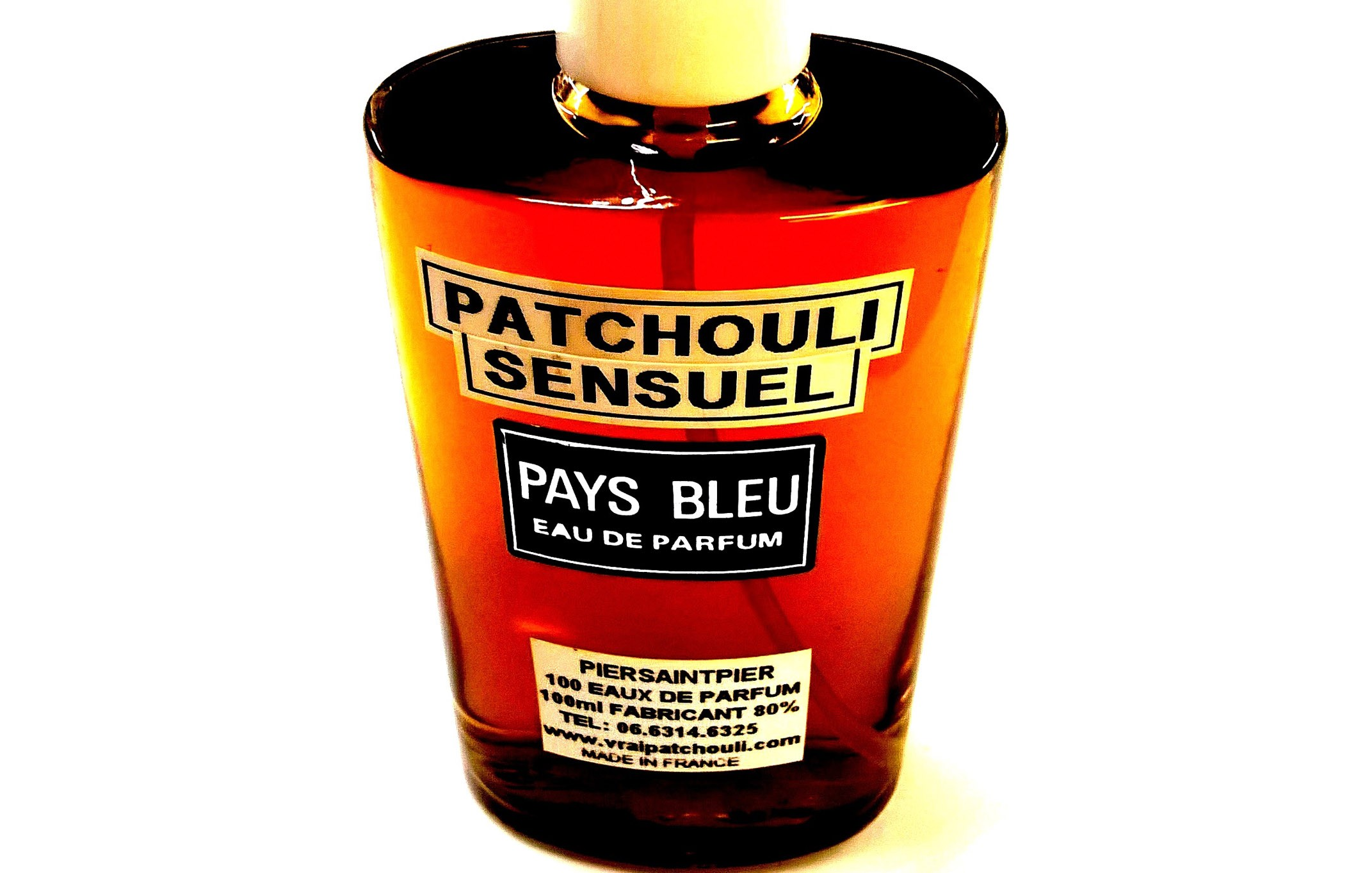 PATCHOULI SENSUEL (Flacon Simple / Sans Boite)